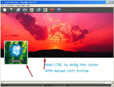 Slicetige Lite image editing