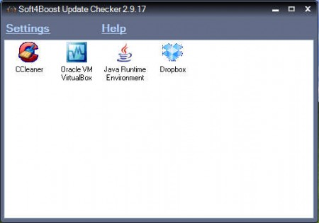 Soft4Boost Update Checker default window