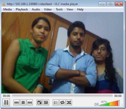 VLC IP Webcam