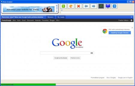 Voice Browser default window