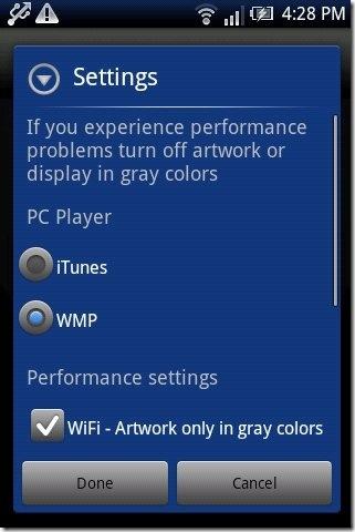 iRemote iTunes & WMP