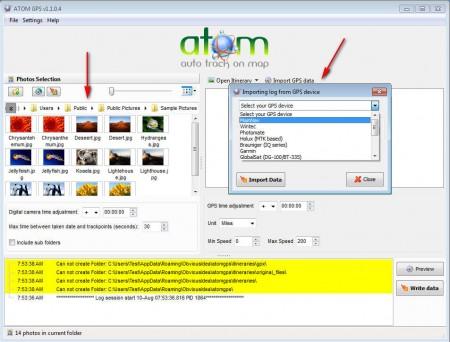 ATOM GPS loading image GPS