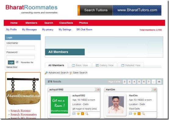 BharatRoommates