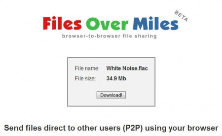 FilesOverMiles start download