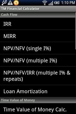 Financial Calculator App