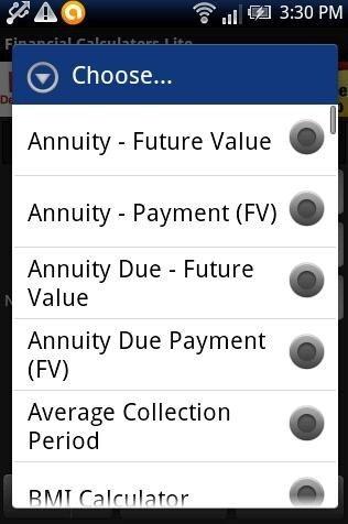 Financial Calculator Lite