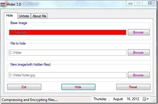 Hider Add Files