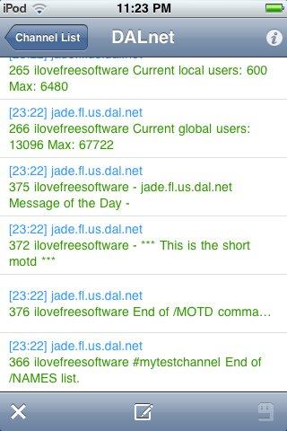 IRC999 interface