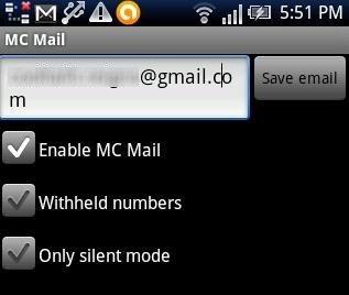 Missed Call Mailer