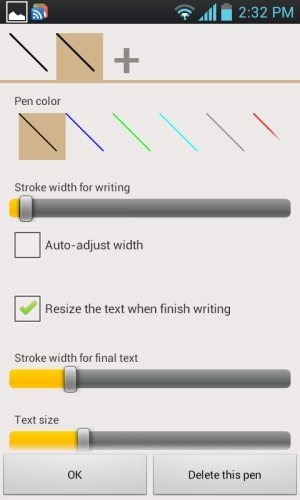 Pen Colors Handrite