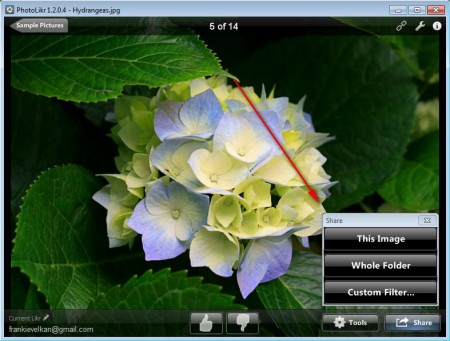 PhotoLikr sharing photos