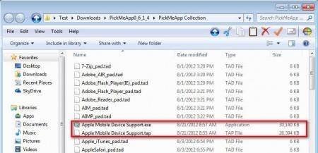 PickMeApp app files