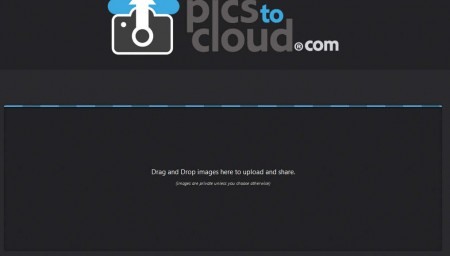 PicsToCloud default window