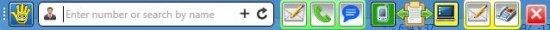 SMS PC HappyFingers Toolbar