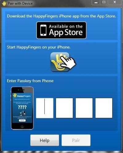SMS PC HappyFingers