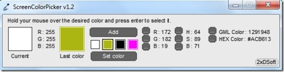 Screen Color Picker