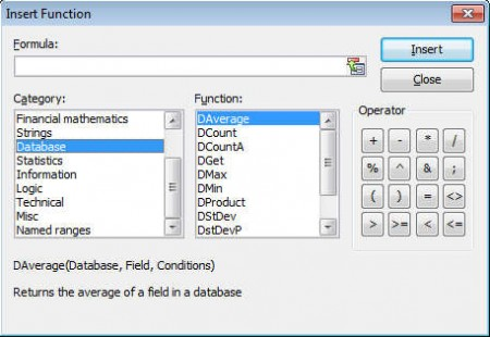 SoftMaker FreeOffice planmaker functions