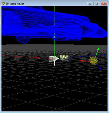 Voodoo Camera Tracker 3D scene viewer