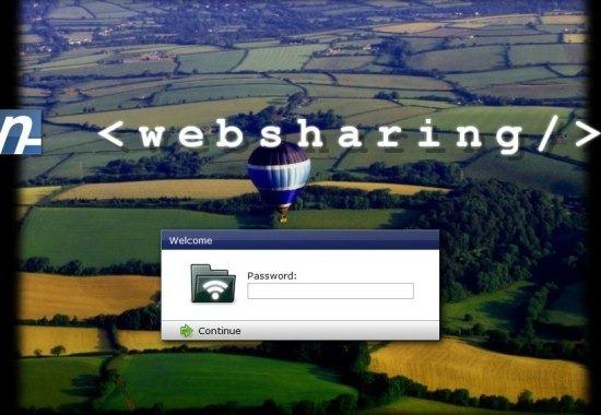 WebSharingLite app