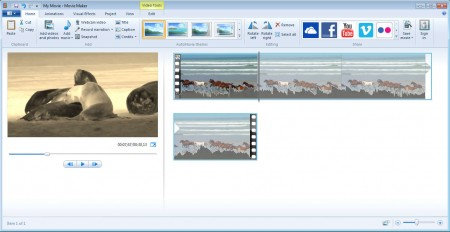 Windows Live Essentials 2012 Movie Maker basic edits