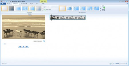 Windows Live Essentials 2012 Movie Maker effects