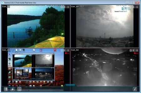 Xeoma trial 4 cameras