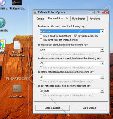 ZeScreenRuler default window