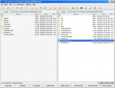 muCommader file managing