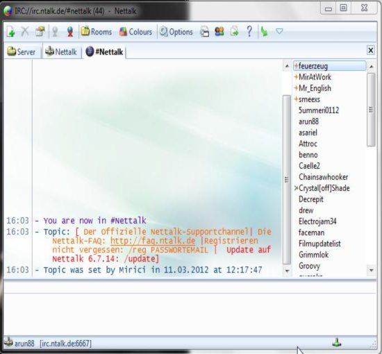 nettalk interface