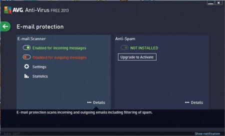 AVG Antivirus email protection
