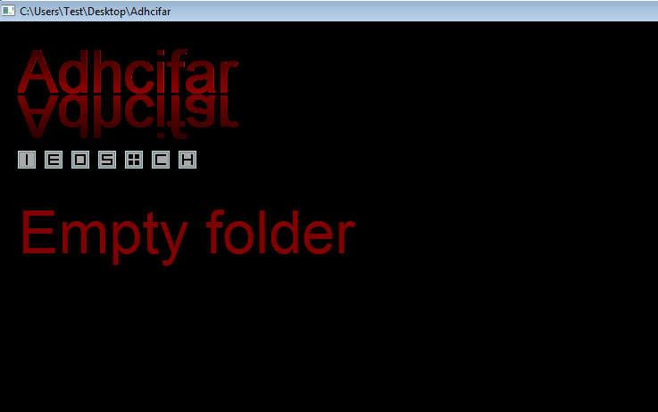 Adhcifar default window