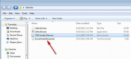 Adhcifar folder added files