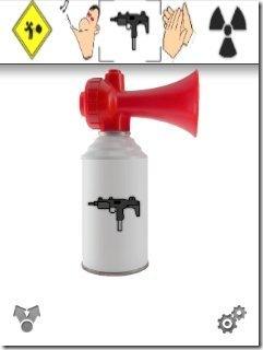 Air horn app