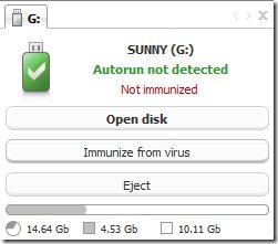 Antirun virus protection