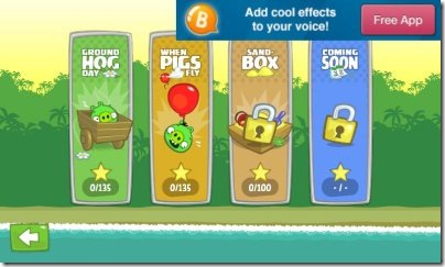 Bad Piggies game modes