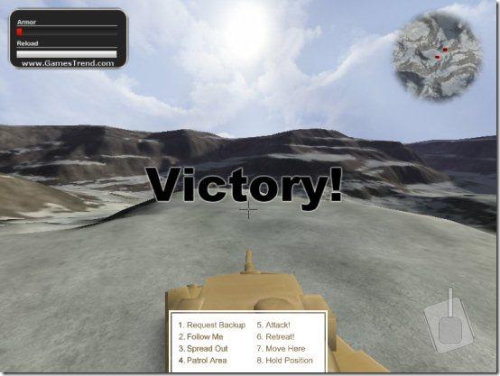 BattleTanks 2 victory