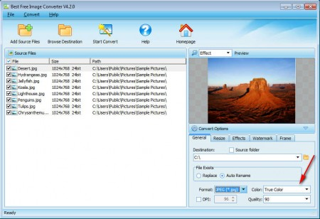 Best Free Image Converter format quality