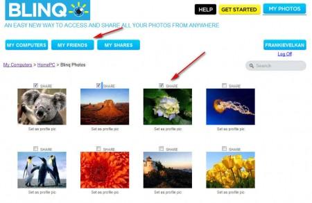 BlinQ online browsing