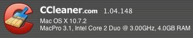 CCleaner deatils screenshot