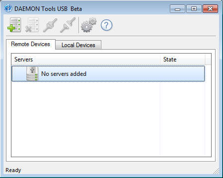Daemon Tools USB default window