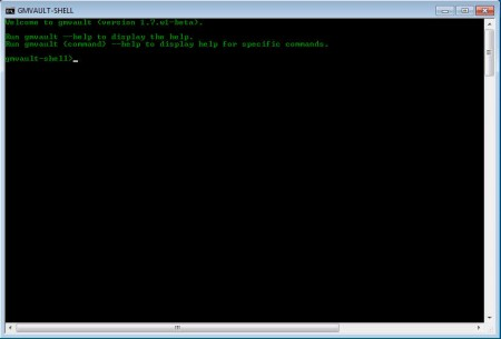 Gmvault to backup Gmail