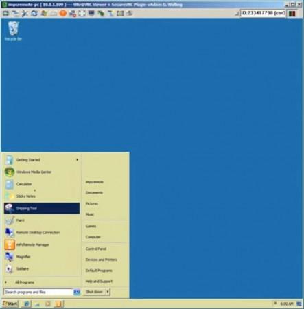 ImPcRemote default window