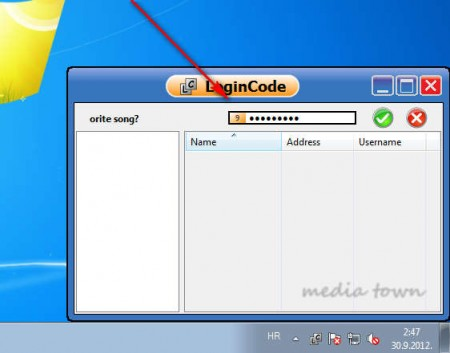 LoginIn Code answering question