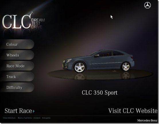 Mercedes CLC game