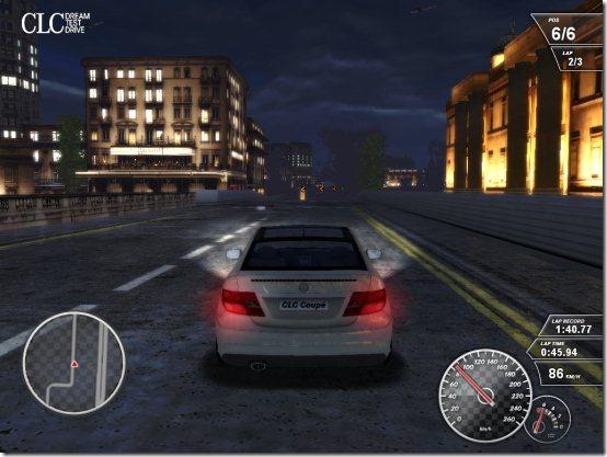 Mercedes CLC night