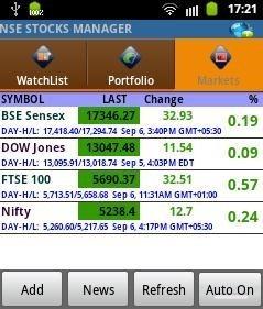 NSE Watch Live Markets