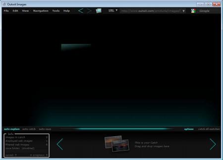 OutWit Images default window
