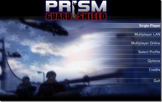 PRISM fps game