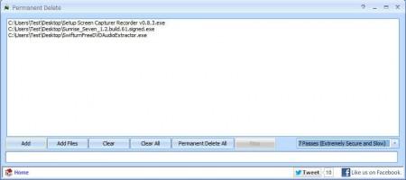 Puran Utilities permanent delete