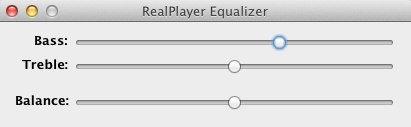 RealPlayer Equalizer